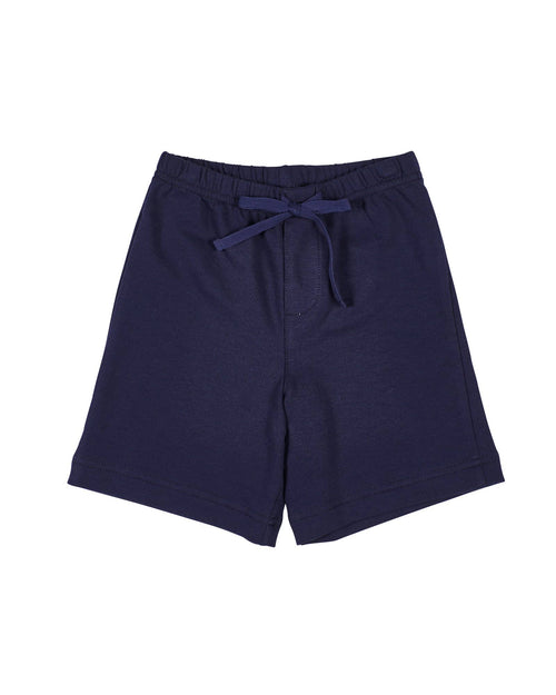 Navy French Terry Shorts