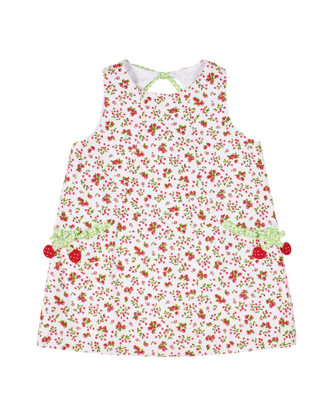Cherry and Strawberry Print Dress - Florence Eiseman