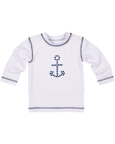 Boys Sweater with Plaid Shoulder Patches