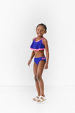 Tween Royal Bikini with Fly Away Top