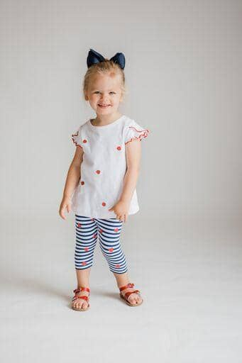 Strawberry Print Capris - Florence Eiseman