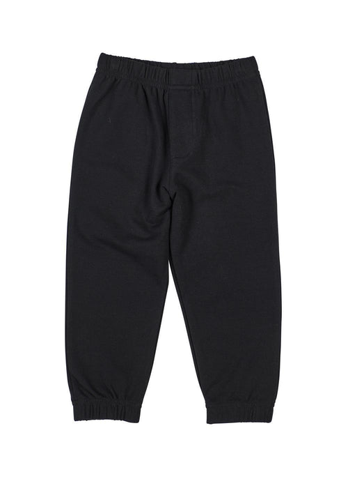 Black French Terry Jogger