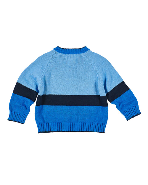Sweater With Intarsia Tractor