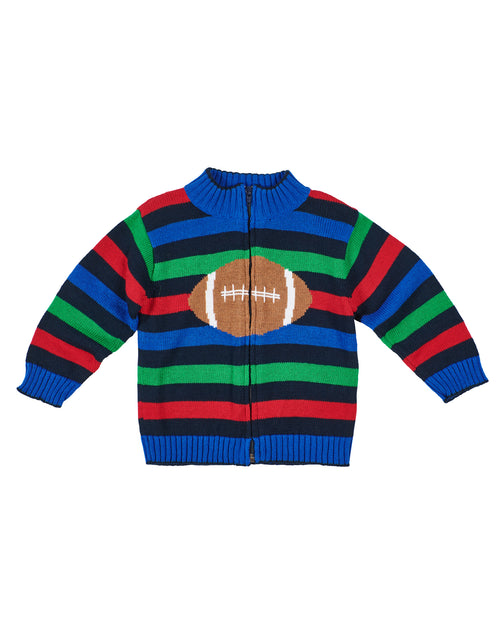 Striped Baby & Toddler Boys Football Sweater