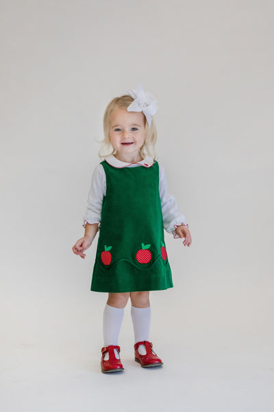 Jumper With Applique Apples