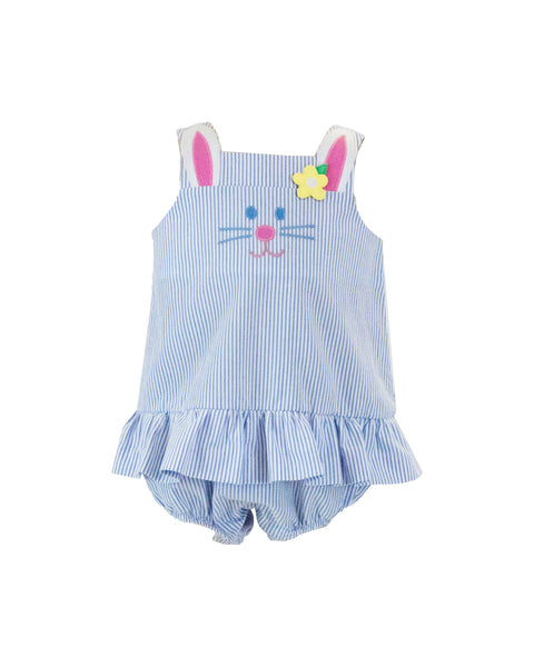 Bunny Romper With Skirt
