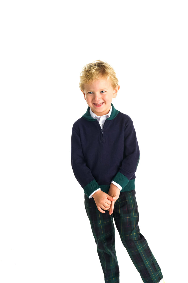 Boys Shawl Collar Sweater
