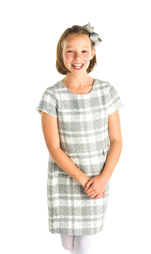 Boucle Plaid Dress - Florence Eiseman