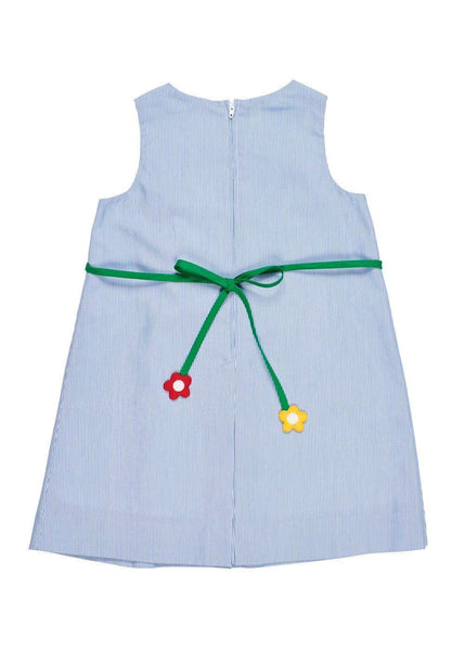 Junior Cord Dress With Flower Trellis - Florence Eiseman