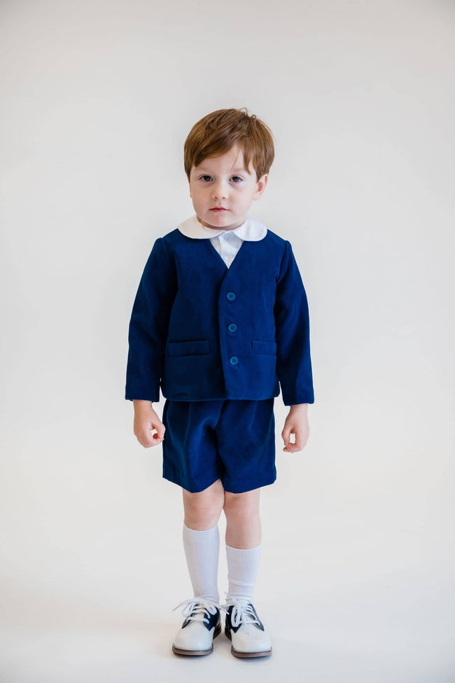 Royal Velvet Eton Suit