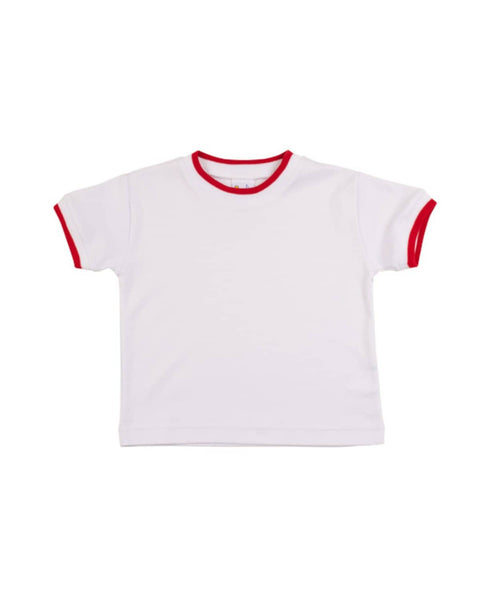 Red Tipped T-Shirt - Florence Eiseman