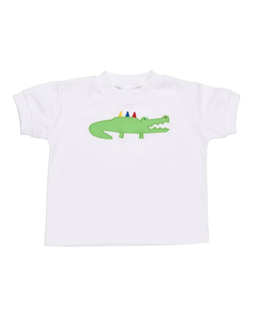 T Shirt with Alligator Applique - Florence Eiseman