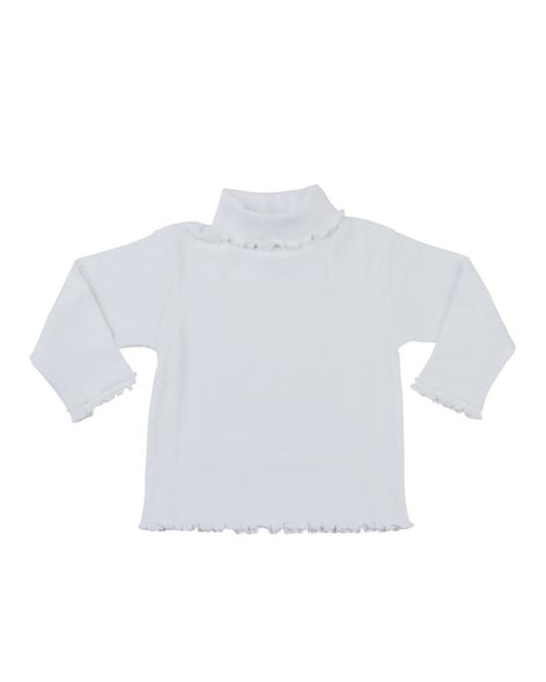 Girls Rib Turtleneck - Florence Eiseman