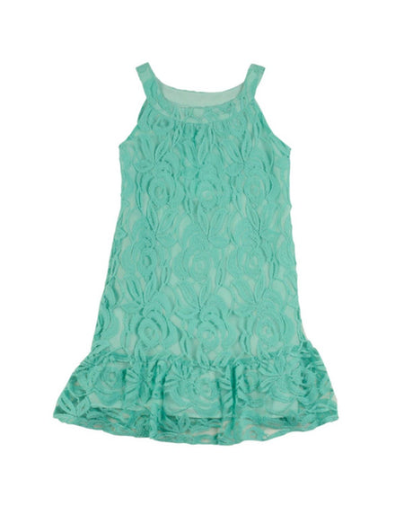 Tween Mint Sequin and Floral Shift