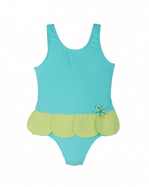 Girls Swimsuit w/Petal Skirt - Florence Eiseman