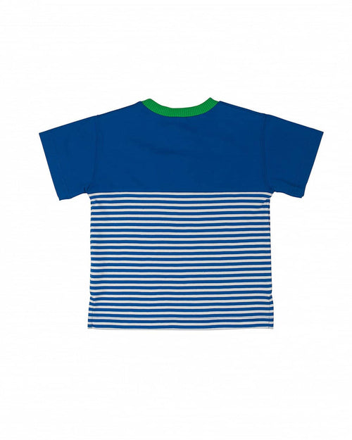 Boys' Striped T-Shirt with Pocket - Florence Eiseman