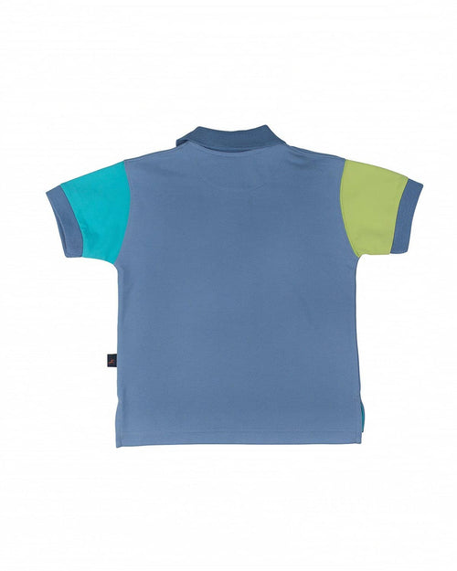 Boys' Multicolor Polo Shirt - Florence Eiseman