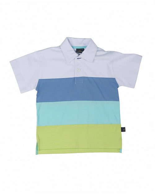 Boys' Color Block Polo Shirt - Florence Eiseman