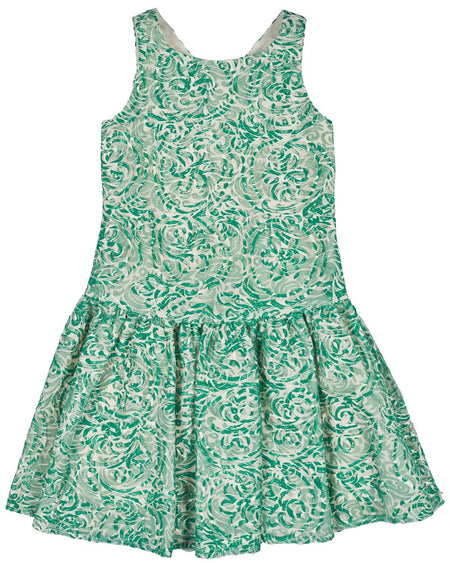Limited Edition Girls Floral Print Voile Dress