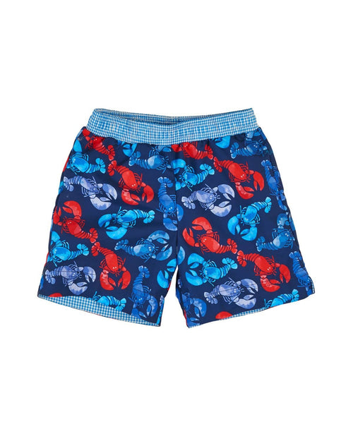 Boys Lobster Print Trunks - Florence Eiseman
