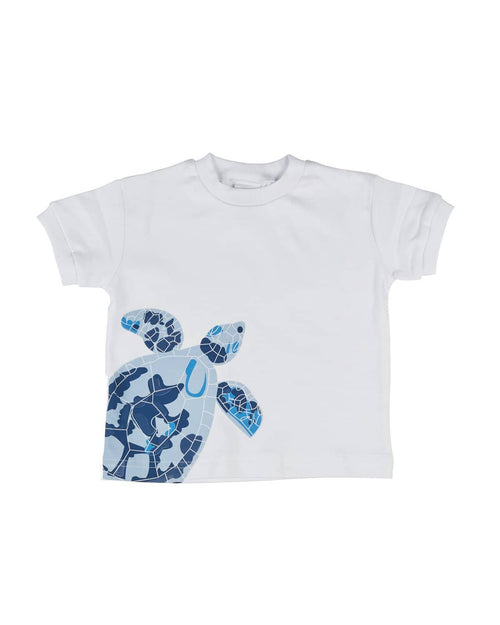 Boys T-Shirt with Screen Print Turtle - Florence Eiseman