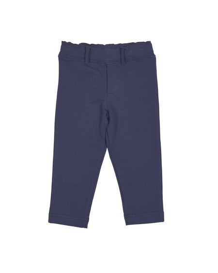 Royal Corduroy Pant with Football Embroidery