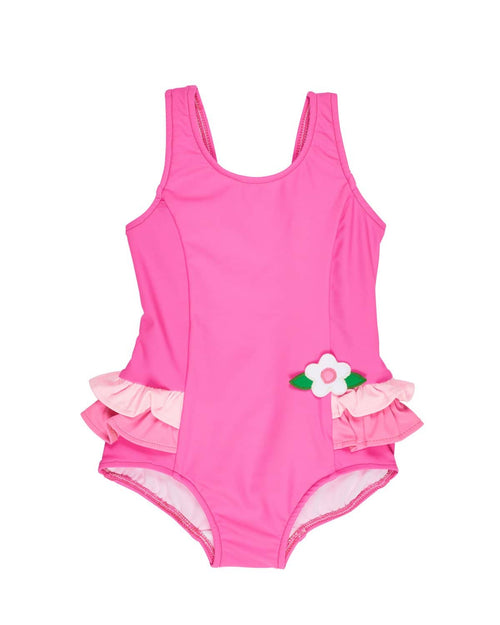 Three Tone Pink Swimsuit - Florence Eiseman