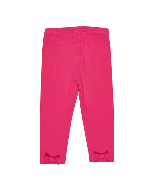 Fuchsia Leggings with Back Bows - Florence Eiseman