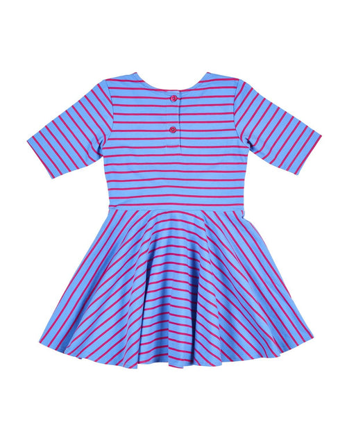 Stripe Tie Front Dress - Florence Eiseman