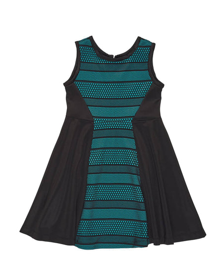 Crepe Knit Dress w/Back Detail