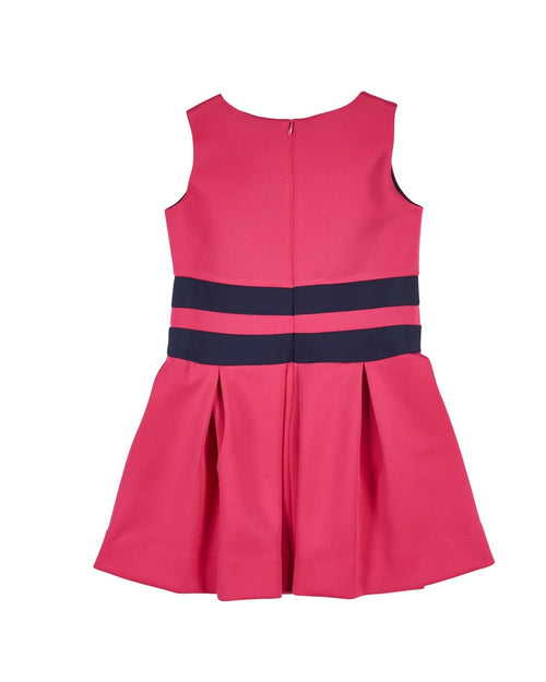 Tween Fuchsia and Navy Colorblock Dress - Florence Eiseman