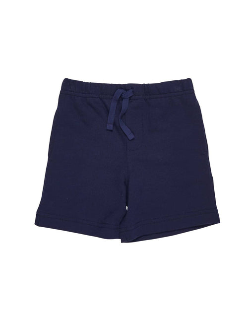 Navy Boys Knit Shorts - Florence Eiseman