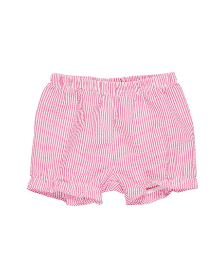 Seersucker Shorts with Sailboats