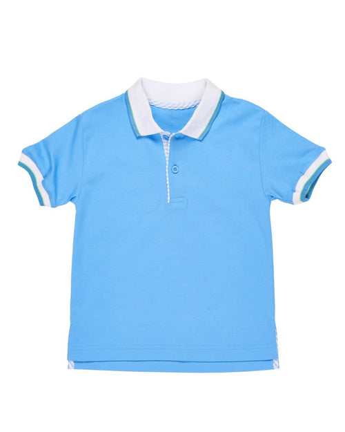 Blue Polo Shirt - Florence Eiseman