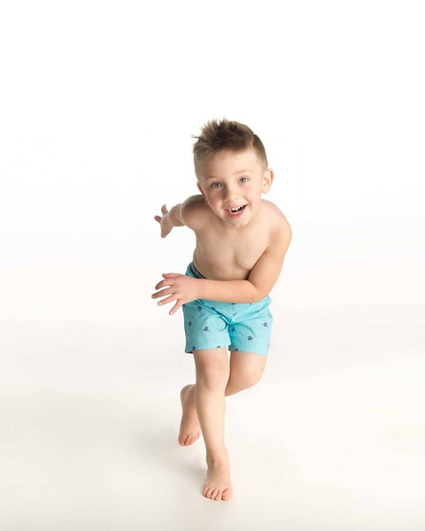 Boys Turtle Swim Trunk - Florence Eiseman