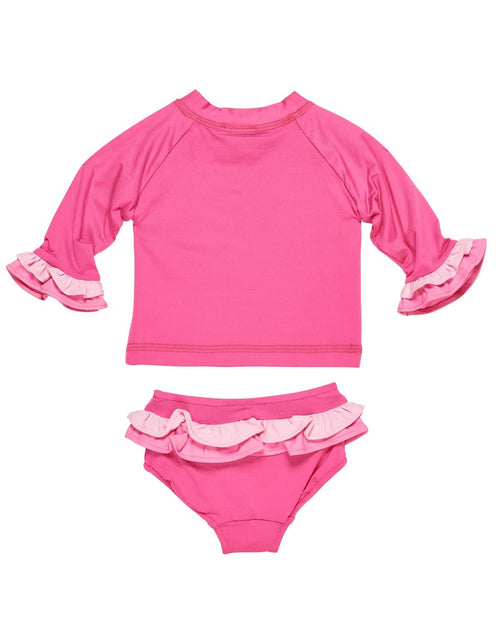 Girls Rash Guard with Matching Bottoms - Florence Eiseman