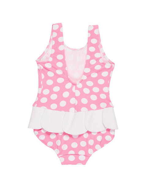 Polka Dot Girls Swimsuit - Florence Eiseman