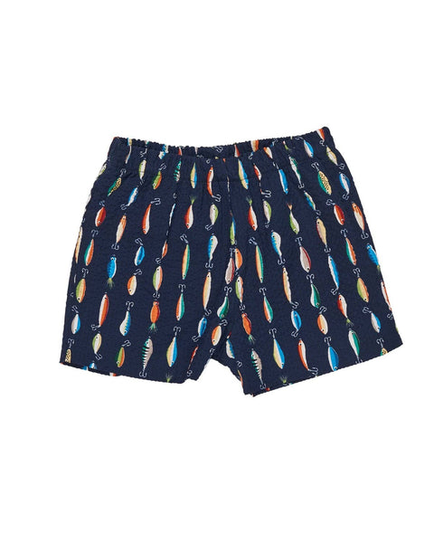 Seersucker Shorts with Lures - Florence Eiseman