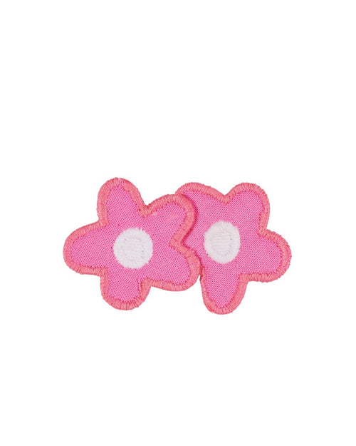 Two Pink Flowers Hairclip