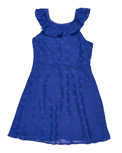 Tween Royal Chiffon Dress - Florence Eiseman