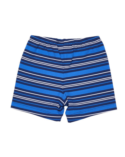 Stripe Boys Swim Trunk with Anchor - Florence Eiseman