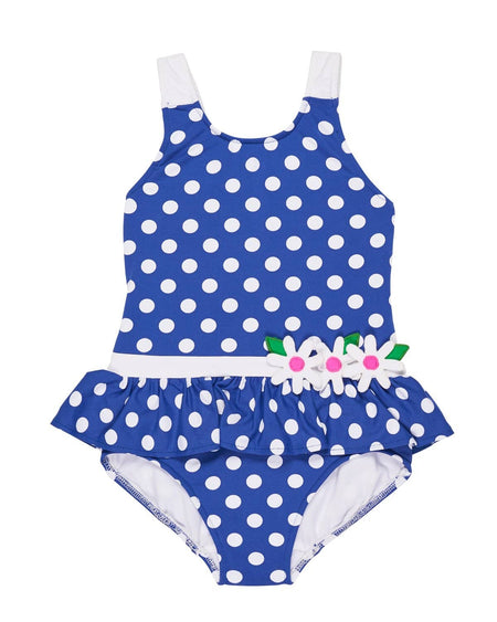 Navy and White Waffle Stripe Tankini