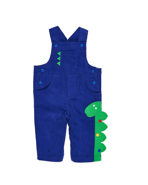 Corduroy Overall with Dinosaur - Florence Eiseman