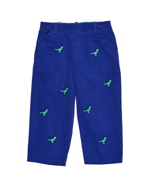 Corduroy Pants with Dinosaurs - Florence Eiseman