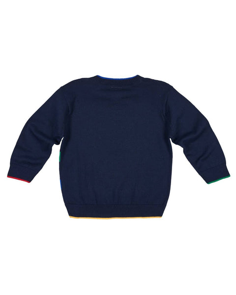 Sweater with Contrast Bands - Florence Eiseman