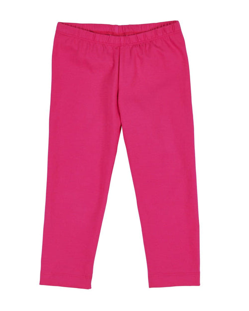 Bright Pink Leggings with Ankle Bows - Florence Eiseman
