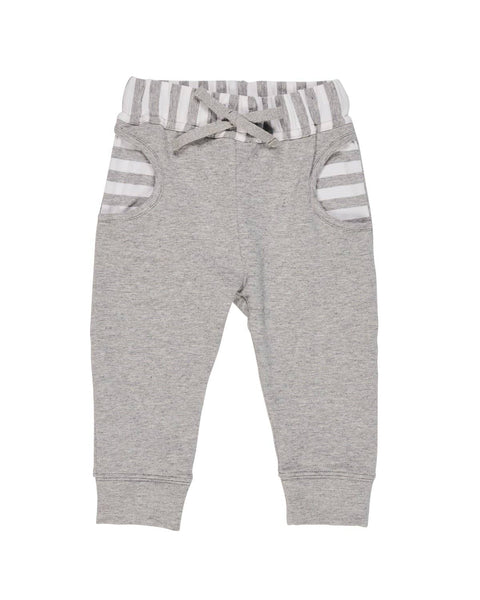 Heather Grey French Terry Jog Pant - Florence Eiseman