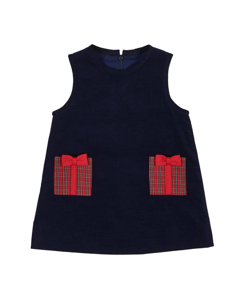 Corduroy Jumper with Present Pockets - Florence Eiseman