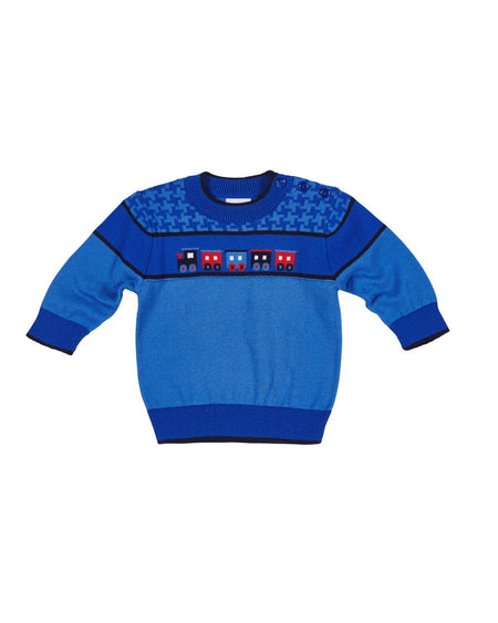 Boys Shirt with Red Piping