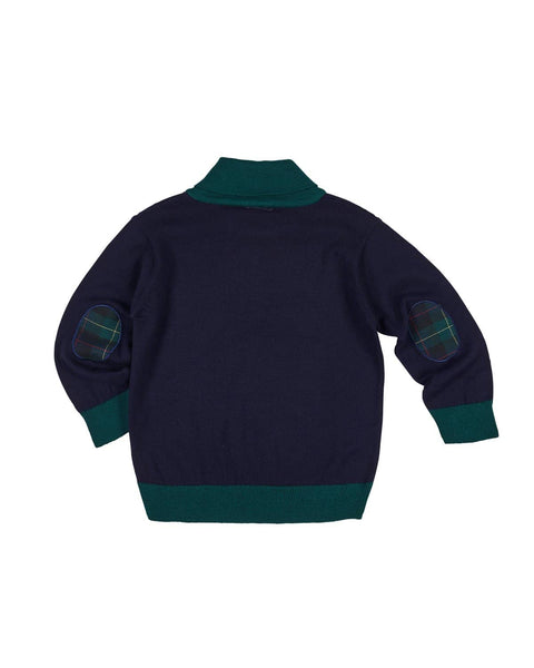 Boys Shawl Collar Sweater - Florence Eiseman
